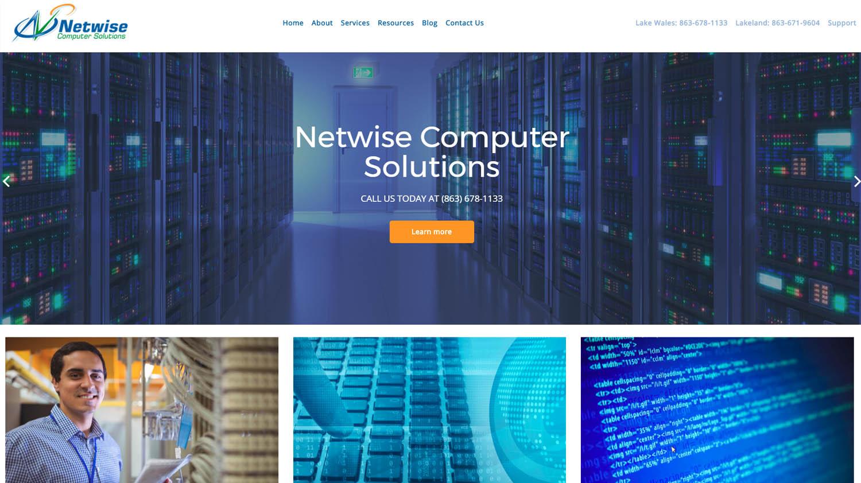 Website Design For Computer Shop