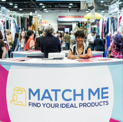 Matchmaking service for buyers and exhibitors