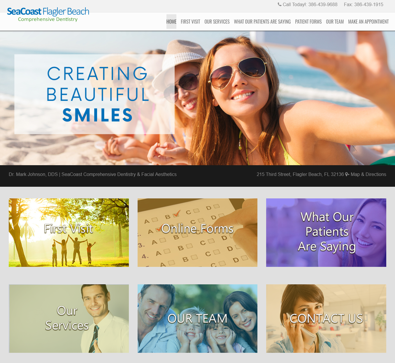 Floirda Dental Web Design